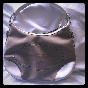Prada Authentic Prada Canvas Handbag - Handbag
